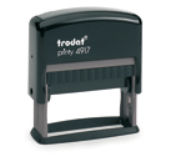 Custom Self Inking Stamps customized just for you. Choose Font Style and Ink Color. Fast Shipping