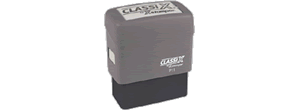 Classix Self-Inking<BR>Texas Notary Stamps