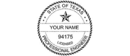 Texas Professional<BR>Engineer Products