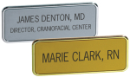 Custom Name Badges. From one to three lines of Copy.