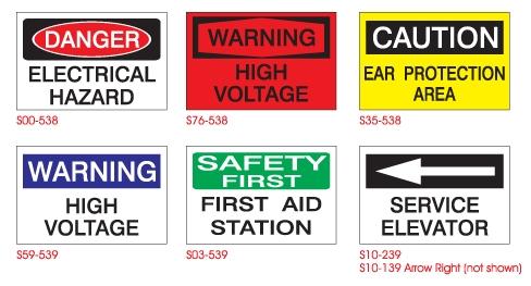 <font color=blue>INDUSTRIAL<br>SAFETY SIGNS</FONT COLOR>