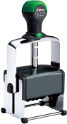 Shiny Heavy Metal Self-Inking Daters