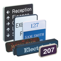 Signs make way finding easier in the office. If you need fast signs now for interior office signs, engraved signs, name plates, wall signs, ADA Braille Compliant signs, let Texas Marking help. Call us at 281-364-7100