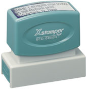 Xstamper Pre-Inked Texas Notary Stamps